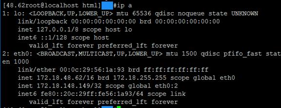 keepalived+nginx 模型示例
