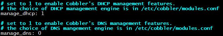 自动配置dhcp
